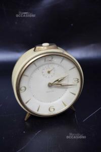 Allarm Clock Vintage Vigil Color Panna / Brass