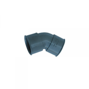 CURVA 45° FF PVC GRIGIO Diam. 40