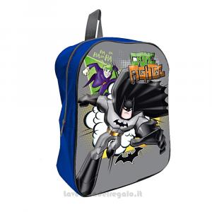 Zainetto grigio Batman 3D DC Comics per l'asilo 26x10x36 cm - Articoli per la Scuola