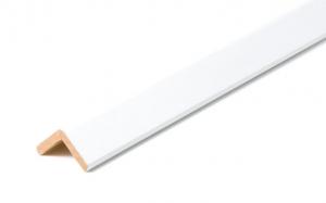 Paraspigolo Ayous Bianco - LARGHEZZA: 4,5X4,5cm - Altezza: 3,00mt