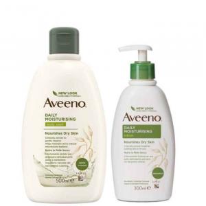 Aveeno bundle bagno doccia 500ml + crema idratante 300ml