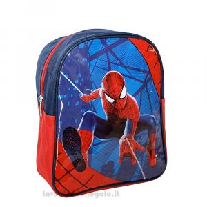 Zainetto Spiderman Marvel per l'asilo 23x27 cm - Articoli per la Scuola