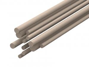 Profilo Tondo Balsa - DIAMETRO: 10,0mm - Altezza: 1,00mt