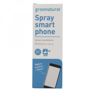 Spray Igienizzante Schermo Smartphone e TV 50 ml Green Natural