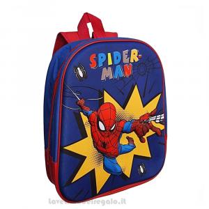 Zainetto Spiderman 3D Marvel per l'asilo 32 cm - Articoli per la Scuola