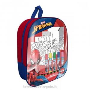 Zainetto Spiderman Marvel con Gadget per l'asilo 23x10x32 cm - Articoli per la Scuola