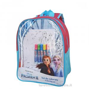 Zainetto Frozen II Disney con Gadget per l'asilo 23x10x32 cm - Articoli per la Scuola