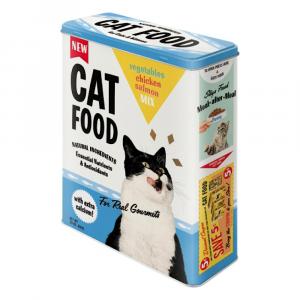 Scatola XL Cat food di latta
