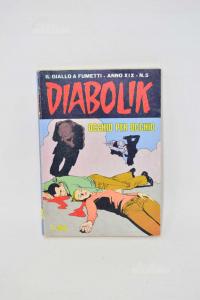 Fumetto Diabolik Numero 5 Del 17 Marzo