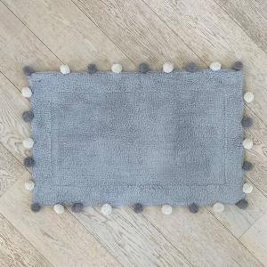 Tappeto Pon Pon grigio chiaro