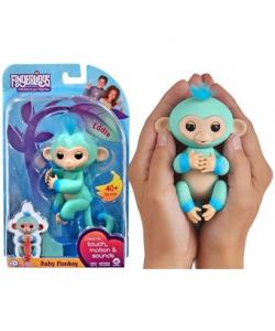 Fingerlings - Scimmietta Blu - Baby Monkey