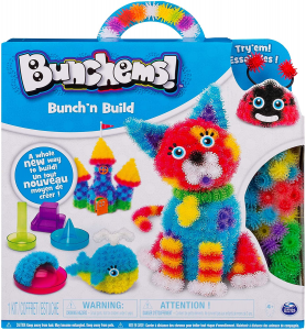 Bunchems- Bunch 'N Build Kit con Formine, 400 Pezzi,