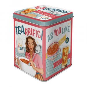 Scatolina da the Tealicious & Tearrific! di latta