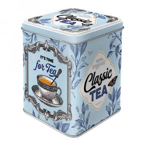 Scatolina da the Classic Tea di latta