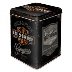 Scatolina da the Harley Davidson - Genuine di latta