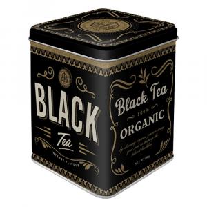 Scatolina da the Tea Black Tea di latta