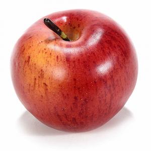 Mela rossa decorativa artificiale