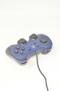 Joystick Universale Usb Logitech Blu Scuro