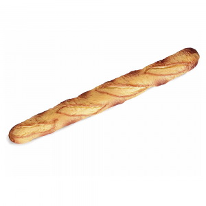 Pane a baguette morbida decorativa artificiale