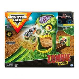 Monster Jam Playset per Veicoli in scala 1:64