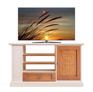 TV Regal hoch aus Holz 2 Farben