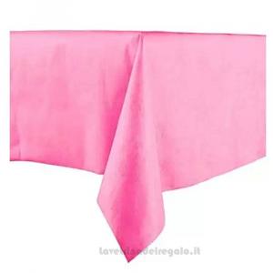 Tovaglia monouso rosa Compleanno bimba in Tessuto non Tessuto 140x240 cm - Party tavola