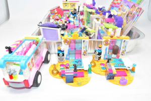 Set Lego Friends 41311 41307 41342 41316 41310 41308 41305 41316 With Instructions