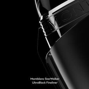 Fineliner Montblanc StarWalker UltraBlack Pregiata Resina