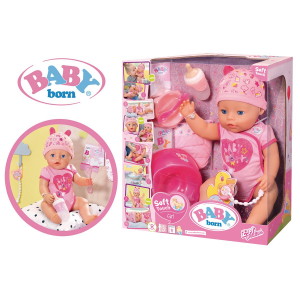 BABY BORN SOFT TOUCH - ROSE 43 CM