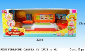 REGISTRATORE DI CASSA CON LUCI E SUONI