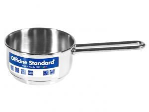 Officine standard casseruola 1 manico inox cm12