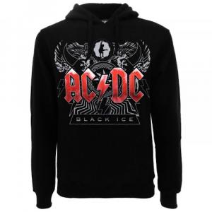 Felpa AC/DC Black Ice taglia XS S M L XL XXL
