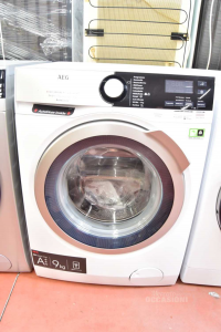 Washing Machine Aeg 800series Auto Dose Wi-fi 9kg German New
