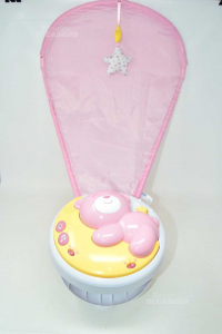 Next2moon Pink Merry-go-round To Proiezione Chicco 0m + Music And Lights