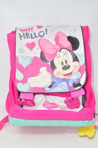 Backpack School -x- Minnie