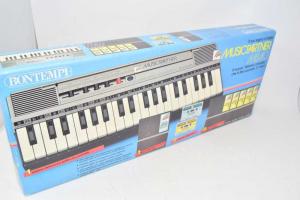 Pianola Bomtempi Music Partner Ms40 A Batterie ( Provata ) Alimentatore Non Compreso I