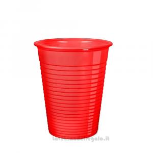 50 pz - Bicchieri rossi in plastica - Party tavola
