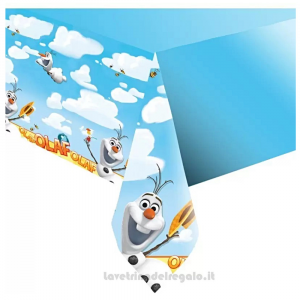 Tovaglia Olaf di Frozen Compleanno bimba 120x180 cm - Party tavola