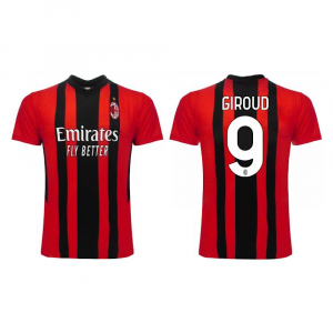 Maglia Giroud Calcio Milan AC 21/22 taglia 10 12 ragazzo