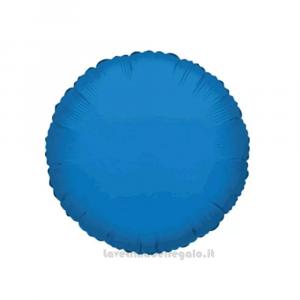 Palloncino Foil azzurro Compleanno bimbo 45 cm - Party allestimento