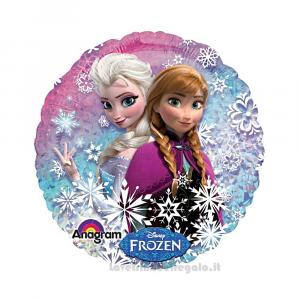 Palloncino Foil Frozen Northen Lights Compleanno Bimba 45 cm - Party allestimento