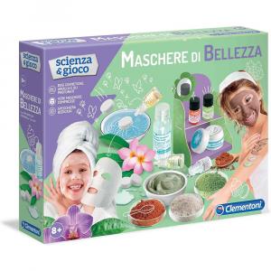 Clementoni- Scienza Maschere di Bellezza, Gioco scientifico, Multicolore