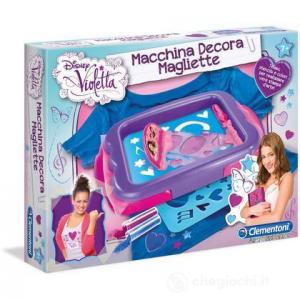 Clementoni  Violetta - Macchina Decora Magliette