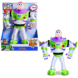 Toy Story Peluche Buzz con Funzioni, Multicolore