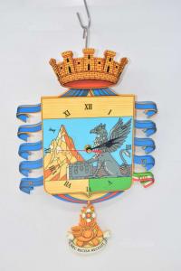 Orologio A Pendolo In Legno Con Numeri Romani,40x25 Cm Funzionante