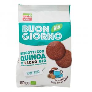 Biscotti con Quinoa e Cacao 200 gr Buongiorno