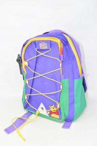 Backpack Purple Winnie Yhe Pooh