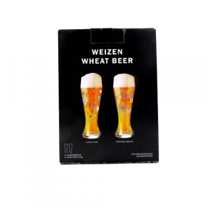 Ritzenhoff 2 bicchieri birra weizen decorati 65cl