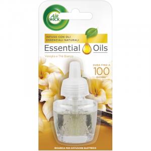 AIR WICK Essential Oils: Vaniglia e The Bianco da 19ml