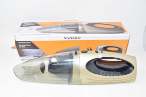 Mini Vacuum Cleaner For Cars New Silver Crest